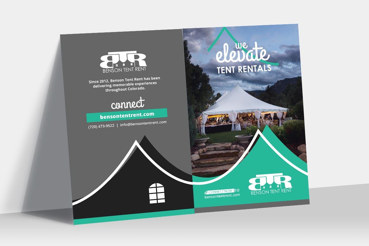 Benson Tent Rent Brochure