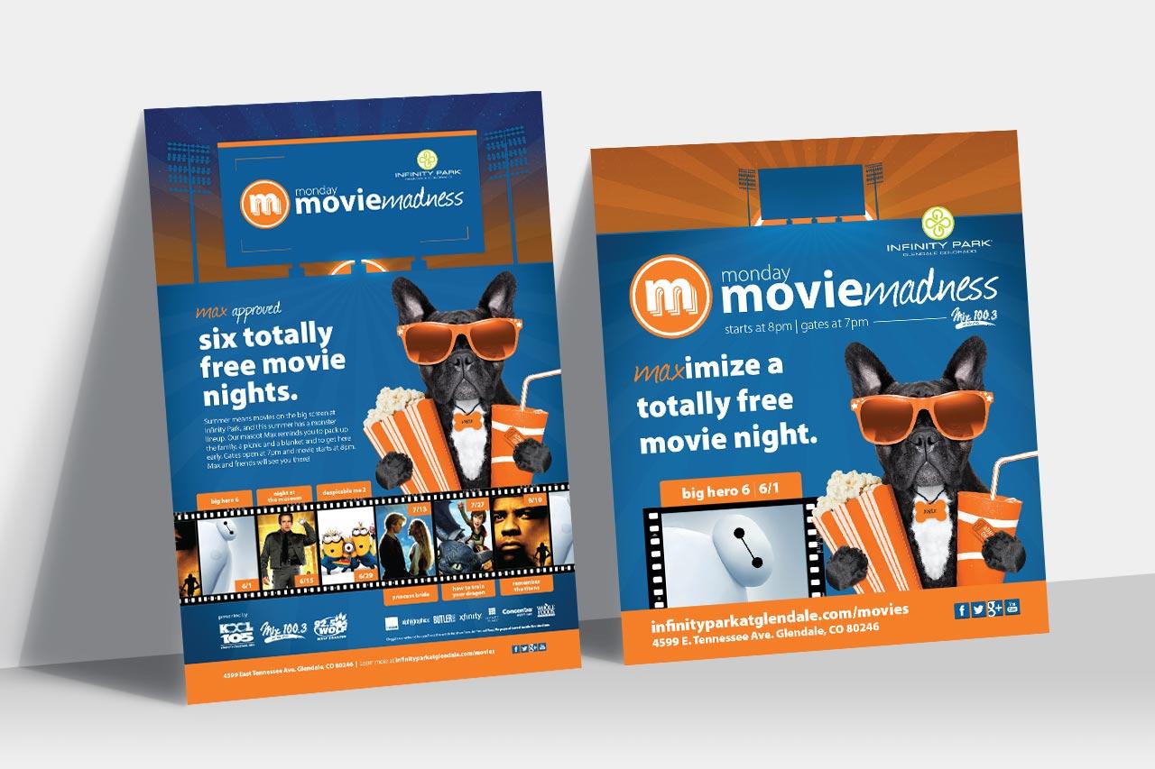 Monday Movie Madness Ad