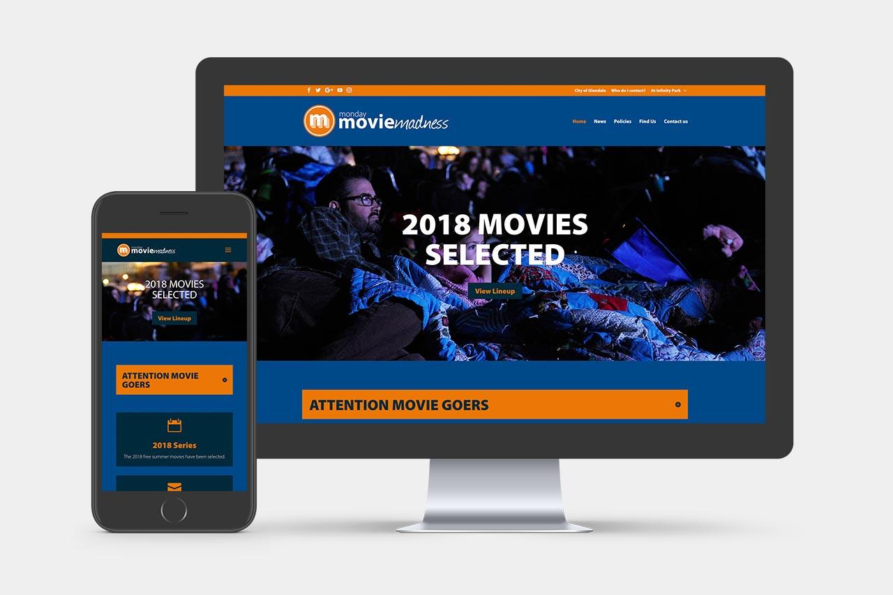 Monday Movie Madness Website