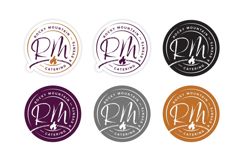 Rocky Mountain Catering - Badges