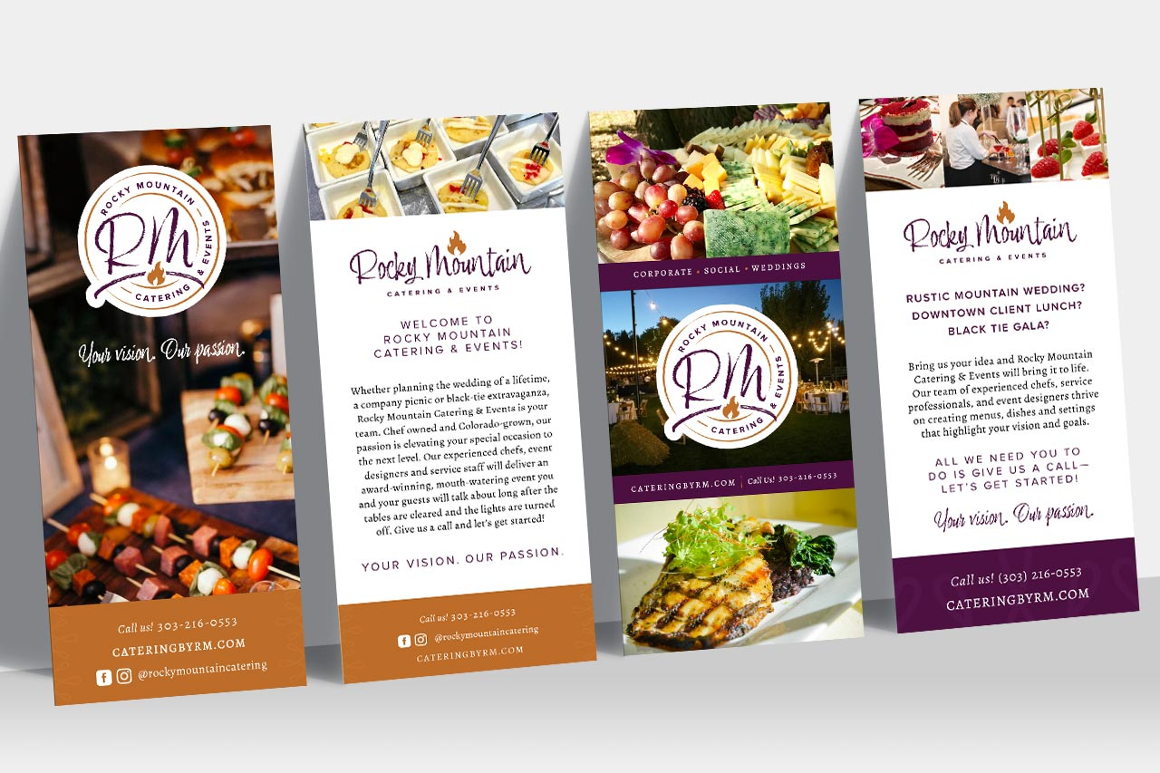 Rocky Mountain Catering - Rack Card