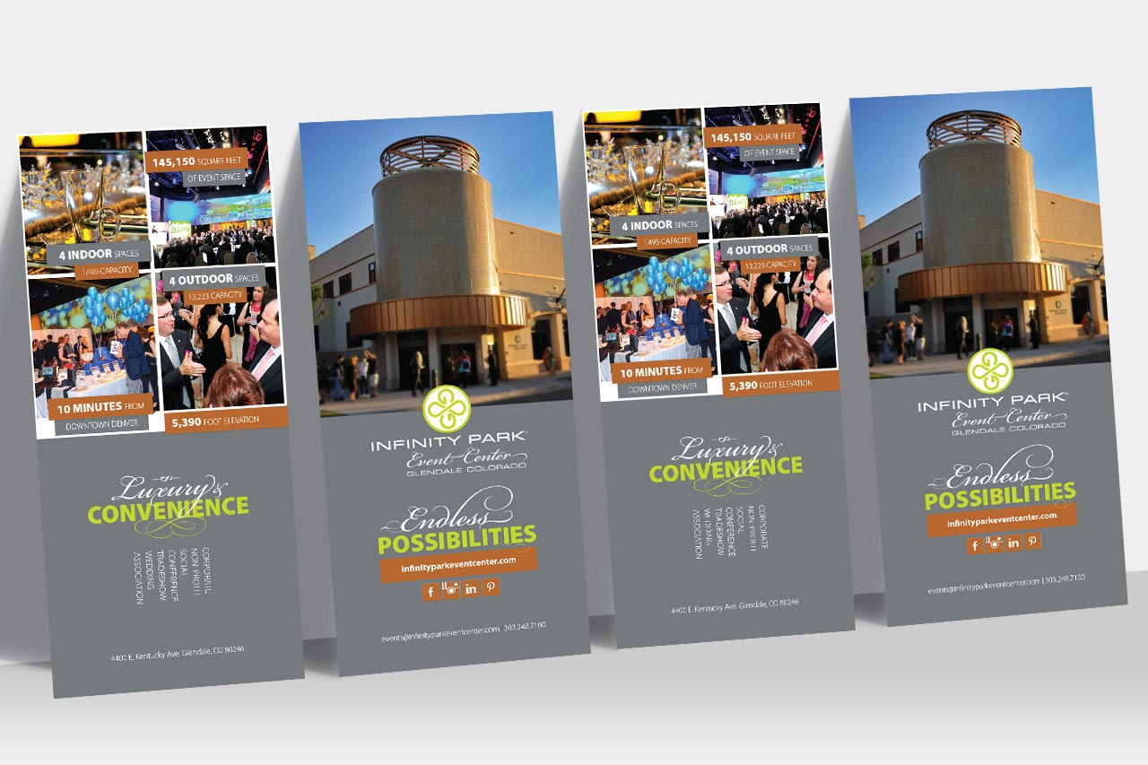 Infinity Park Event Center Sales Collateral