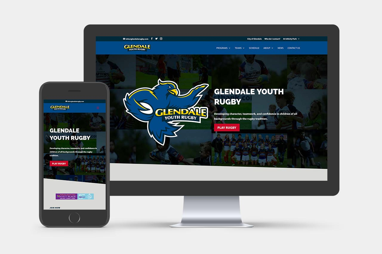 Glendale Youth Rugby Website